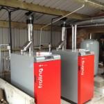 Fröling boiler cascade 1