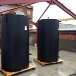 Shaw Renewables Biomass Biogas renewable energy plant room buffer tank